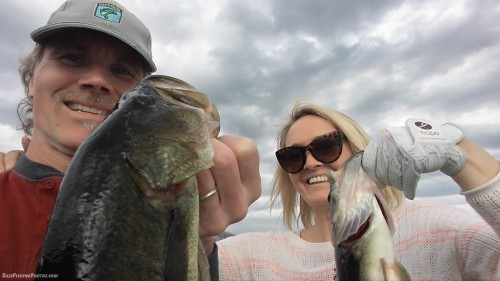 We caught this double as part of an incredible day of fishing on 4-12-17 :)