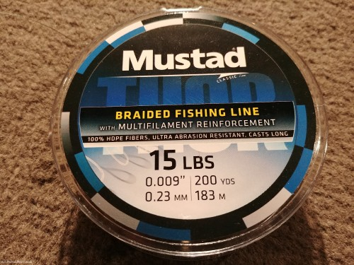 Some new braided line I'm trying out.