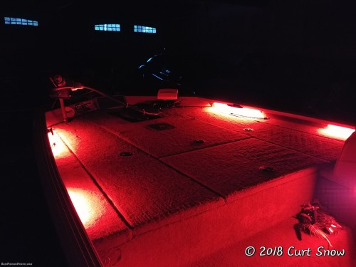 Bass Boat LED Lighting Installation