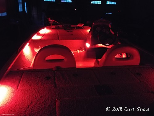 Bass Boat LED Lighting Installation