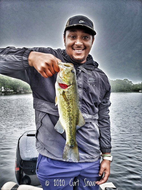 Darron, starting the day off with a good bass!