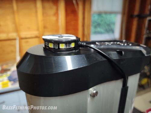 Minn Kota Talon LED Anchor Light Wire Routing